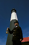 GA, Georgia, Tybee Island, lighthouse, 2005 .Image: gatybee103..Photo Copyright: Lee Foster, lee@fostertravel.com, www.fostertravel.com, (510) 549-2202.