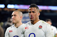 Anthony Watson of England looks on after the match. RBS Six Nations match between England and Ireland on February 27, 2016 at Twickenham Stadium in London, England. Photo by: Patrick Khachfe / Onside Images