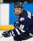 Mike Borisenok (UNH - 14) - The University of New Hampshire Wildcats defeated the Miami University RedHawks 3-1 (EN) in their NCAA Northeast Regional Semi-Final on Saturday, March 26, 2011, at Verizon Wireless Arena in Manchester, New Hampshire.