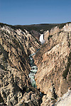 WY: Wyoming, Yellowstone National Park:.Lower Falls on the Yellowstone River..Photo #: yellow1098.Photo copyright Lee Foster, 510/549-2202, lee@fostertravel.com, www.fostertravel.com..
