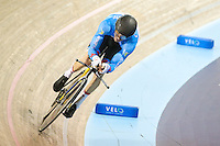 Picture by Alex Whitehead/SWpix.com - 02/03/2017 - Cycling - UCI Para-cycling Track World Championships - Velo Sports Center, Los Angeles, USA - Men's C2 1km time trial. Gold - CHERNOVE Tristen Canada