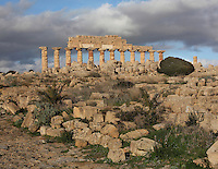 Temple C, 6th-5th century BC, on the acropolis of Selinunte, Sicily, Italy. Picture by Manuel Cohen