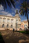 Fachada del Ayuntamiento de Cartagena.
