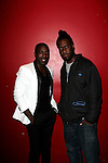 """RECORDING ARTIST ABIAH AND KEYBOARDIST ROBERT GLASPER AT THE LIVE CONCERT CELEBRATING THE RELEASE OF """"LIFE AS A BALLAD"""" AT Le Poisson Rouge, NY"""