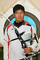 Takaharu Furukawa (JPN), .April 22, 2012 - Archery : .Archery Japan National Team Selection match for The World Cup Ogden 2012 .at JISS Archery Field, Tokyo, Japan. .(Photo by Daiju Kitamura/AFLO SPORT) [1045]