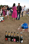 Cartier International Polo at the Guards Club, Smiths Lawn, Windsor Great park, Egham, Surrey, England 2006. At the end of the days play.