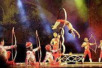 Beijing ,China- 2007 File Photo -<br /> <br /> <br />  acrobats performance<br /> <br /> <br /> photo : James Wong-  Images Distribution