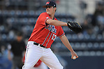 Mississippi's Drew Pomeranz pitches vs. Florida at Oxford-University Stadium on Friday, March 26, 2010 in Oxford, Miss. Ole Miss won 3-2.