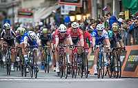 bunch sprint for 4th place<br /> <br /> 108th Milano - Sanremo 2017