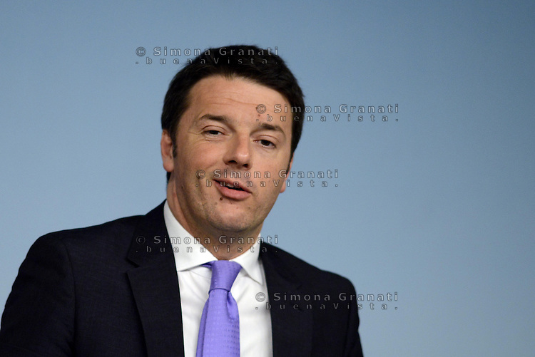 Roma, 8 Aprile 2014<br /> Il Governo approva il Def, documento di Economia e Finanza che delinea il piano per l'economia italiana dei prossimi tre anni.<br /> Conferenza stampa al termine del Consiglio dei Ministri.<br /> Matteo Renzi.<br /> The Government approves the Final document of Economics and Finance, that outlines the plan for the Italian economy over the next three years. <br /> Press Conference at the end of the Council of Ministers. <br /> Matteo Renzi
