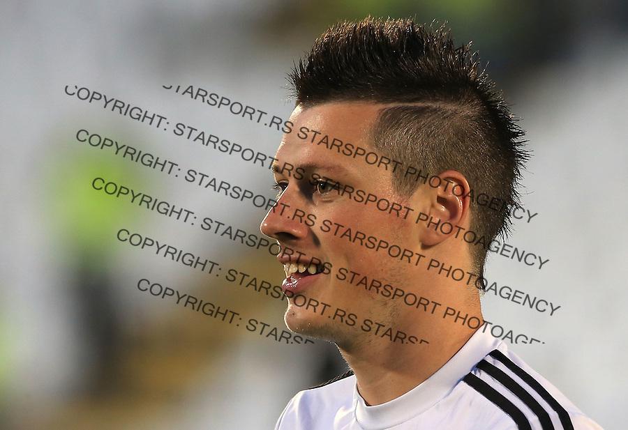 Fudbal Football Soccer<br /> UEFA Champions league-2nd qualifying round<br /> Partizan v HB Torshavn (Faroe Islands)<br /> Nikola Ninkovic<br /> Beograd, 07.15.2014.<br /> foto: Srdjan Stevanovic/Starsportphoto &copy;