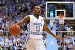 18 November 2015: North Carolina's Nate Britt. The University of North Carolina Tar Heels hosted the Wofford College Terriers at the Dean E. Smith Center in Chapel Hill, North Carolina in a 2015-16 NCAA Division I Men's Basketball game. UNC won the game 78-58.