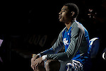 Guard Tyler UIis of the Kentucky Wildcats waits to be introduced before the game against the Mississippi State Bulldogs at Rupp Arena on January 20, 2015 in Lexington, Kentucky. Photo by Taylor Pence