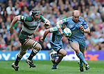 Cardiff Blues V Leicester Tigers, Heineken Cup Semi Final 2009.Martyn Williams bursts through the Leicester defence...Cardiff 3rd Mayl 2009.© Ian Cook IJC Photography, 07599826381,  iancook@ijcphotography.co.uk, www.ijcphotography.co.uk