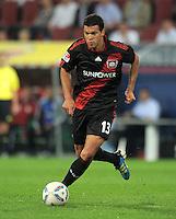 FUSSBALL   1. BUNDESLIGA  SAISON 2011/2012   5. Spieltag FC Augsburg - Bayer 04 Leverkusen           09.09.2011 Michael Ballack (Bayer 04 Leverkusen)