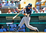 11 March 2009: New York Yankees' outfielder Nick Swisher in action during a Spring Training game against the Detroit Tigers at Joker Marchant Stadium in Lakeland, Florida. The Tigers defeated the Yankees 7-4 in the Grapefruit League matchup. Mandatory Photo Credit: Ed Wolfstein Photo