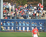 Ole Miss vs. Rhode Island bullpen watches the the game at Oxford-University Stadium in Oxford, Miss. on Sunday, February 24, 2013. Ole Miss won 5-3 to improve to 7-0.