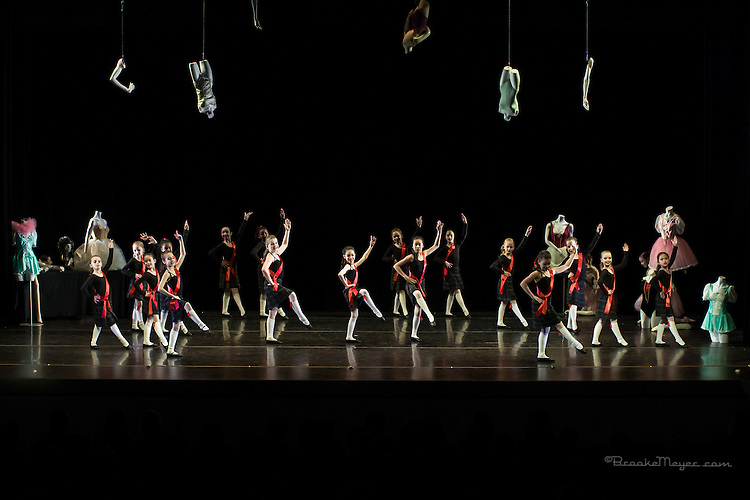 """Evening Performance of """"Coppelia"""", the Spring Gala production of Cary Ballet Company. Cary Arts Center, Friday, 13 March 2015"""