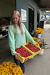 Strawberries at Redman House in Watsonville