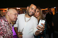 LAS VEGAS, NEVADA - JULY 24, 2016 Fat Joe, French Montana & JLO attend the JLO private birthday celebration at The Nobu Villa Suite at Caesars Palace, July 24, 2016 in Las Vegas Nevada. Photo Credit: Walik Goshorn / Mediapunch