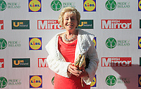 19/05/2015 <br /> Elish O Carroll <br /> during the Irish mirror pride of Ireland awards at the mansion house, Dublin.<br /> Photo: gareth chaney Collins