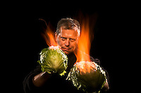 (Sunday October 12, 2008) ..Ed Hill..Flaming Cabbages..Eddie Adams Workshop White Team.