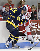 Chris Barton (Merrimack - 23), Joe Pereira (BU - 6) - The visiting Merrimack College Warriors tied the Boston University Terriers 1-1 on Friday, November 12, 2010, at Agganis Arena in Boston, Massachusetts.