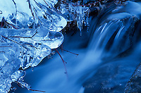&quot;Icicles 1&quot;- Photographed near China Wall above Donner Lake, CA.<br /> Photographed: November 2002