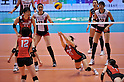 Yoshie Takeshita (JPN),.MAY 23, 2012 - Volleyball : FIVB the Women's World Olympic Qualification Tournament for the London Olympics 2012, between Japan 1-3 Korea at Tokyo Metropolitan Gymnasium, Tokyo, Japan. (Photo by Jun Tsukida/AFLO SPORT) [0003]..