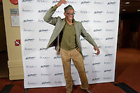 New York City, NY. October 20, 2014. Bill T Jones poses for the media dring the read carpet at The 30th anniversary of The Bessies, the New York Dance and Performance Awards, which were held at the world famous Apollo Theatre in Harlem. Photo by Marco Aurelio/VIEWpress