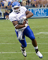 September 06, 2008:  Buffalo running back Ernest Jackson..The Pitt Panthers defeated the Buffalo Bulls 27-16 on September 06, 2008 at Heinz Field, Pittsburgh, Pennsylvania.