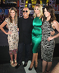 June 15 , 2012 Nina Garcia, Michael Kors, Heidi Klum and Lauren Graham  at Project Runway's 10th Anniversary Kick-Off at Times Square in New York City. © RW/MediaPunch Inc.
