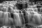 Waterfalls in B&W