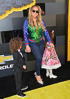 Mariah Carey &amp; Children at the world premiere of &quot;The Lego Batman Movie&quot; at the Regency Village Theatre, Westwood, Los Angeles, USA 4th February  2017<br /> Picture: Paul Smith/Featureflash/SilverHub 0208 004 5359 sales@silverhubmedia.com