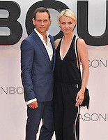 Vinzenz Kiefer &amp; Masha Tokareva at the &quot;Jason Bourne&quot; European film premiere, Odeon Leicester Square cinema, Leicester Square, London, England, UK, on Monday 11 July 2016.<br /> CAP/CAN<br /> &copy;CAN/Capital Pictures /MediaPunch ***NORTH AND SOUTH AMERICAS ONLY***