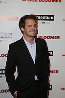 LOS ANGELES, CA - OCTOBER 03: Johnny Simmons attends the premiere of Momentum Pictures' 'The Late Bloomer' at iPic Theaters on October 3, 2016 in Los Angeles, California. (Credit: Parisa Afsahi/MediaPunch).