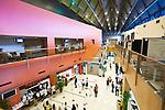 Interior of Cairns Convention Centre.  Cairns, Queensland, Australia