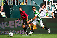 Beram Kayal (33) of Celtic F. C.. Real Madrid defeated Celtic F. C. 2-0 during a 2012 Herbalife World Football Challenge match at Lincoln Financial Field in Philadelphia, PA, on August 11, 2012.