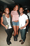 Kamelle Mills, ANTM's Keenyah Hill and Alonzo Jose Attend Vivica A. Fox Hosts Private Celebration for the 31st Birthday of Publicist BJ Coleman and the Launch of www.burgersandbourbon.com Sponsored by Pisco Portón,  at The Marcel Hotel's Polar Lounge, 8/25/11