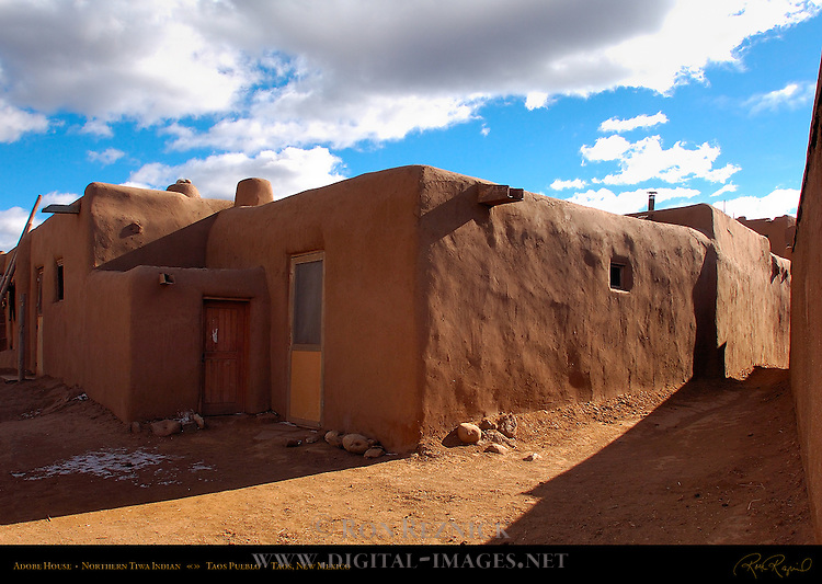 Indian adobe houses for Adobe construction pueblo co