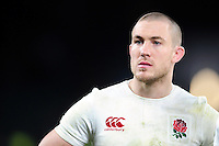 Mike Brown of England looks on after the match. RBS Six Nations match between England and France on February 4, 2017 at Twickenham Stadium in London, England. Photo by: Patrick Khachfe / Onside Images
