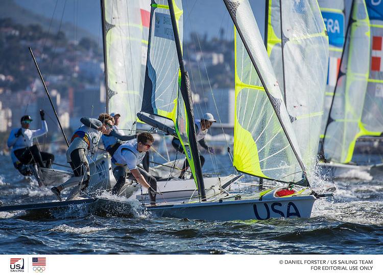 49er USA Thomas Barrows  USATB200 Joe Morris USAJM131<br /> <br /> 2016 Olympic Games <br /> Rio de Janeiro