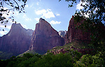 The Three Patriarchs at Zion National Park