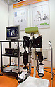 November 9th, 2011 : Tokyo, Japan – Wearable Power-Assistant Locomotor (WPAL) is displayed during International Robot Exhibition 2011. This show is held to showcase new robots and high technology equipments at the Tokyo International Exhibit Center. International Robot Exhibition 2011 runs from November 9 – 12. (Photo by Yumeto Yamazaki/AFLO)