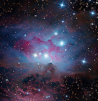 NGC 1973/5/7, The Running Man Nebula