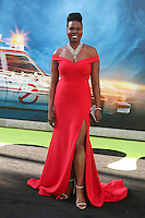 HOLLYWOOD, CA - JULY 9: Leslie Jones at the premiere of Sony Pictures' 'Ghostbusters' held at TCL Chinese Theater on July 9, 2016 in Hollywood, California. Credit: David Edwards/MediaPunch