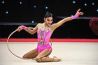"February 7, 2014 - Tartu, Estonia - EDNA GARCIA (1999 junior) from Mexico performs at ""Miss Valentine 2014"" international tournament."
