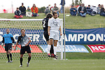 5 November 2006: Duke's Michael Videira (10) and Wake Forest's Sam Cronin (2). Duke defeated Wake Forest 1-0 in overtime at the Maryland Soccerplex in Germantown, Maryland in the Atlantic Coast Conference college soccer tournament final.