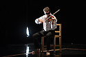 London, UK. 18.02.2014. Circa and the Debussy String Quartet present OPUS at the Barbican. Picture shows: Marc Vieillefon. Photograph © Jane Hobson.