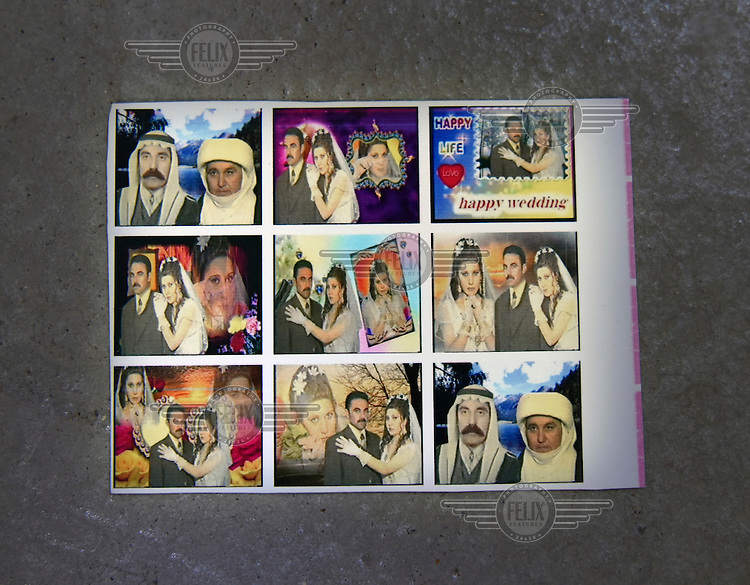 Photographs of Hamo and Layla's wedding. Hamo and Layla are Yazidis who fled the advance of ISIS in August 2014.